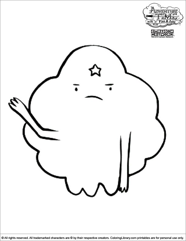 adventure time coloring page - Adventure Time Coloring Pages Jake