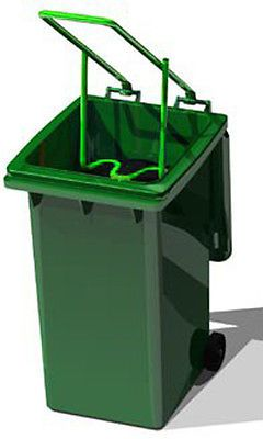 Wheelie Bin Rubbish Compactor - Buster Trash Waste Refuse Bag Squash Garden | Waste Bins & Dustbins | Household & Laundry Supplies - Zeppy.io