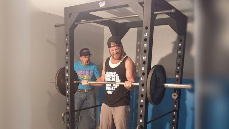 Diy power rack 25 pinterest for Buff dudes t shirt