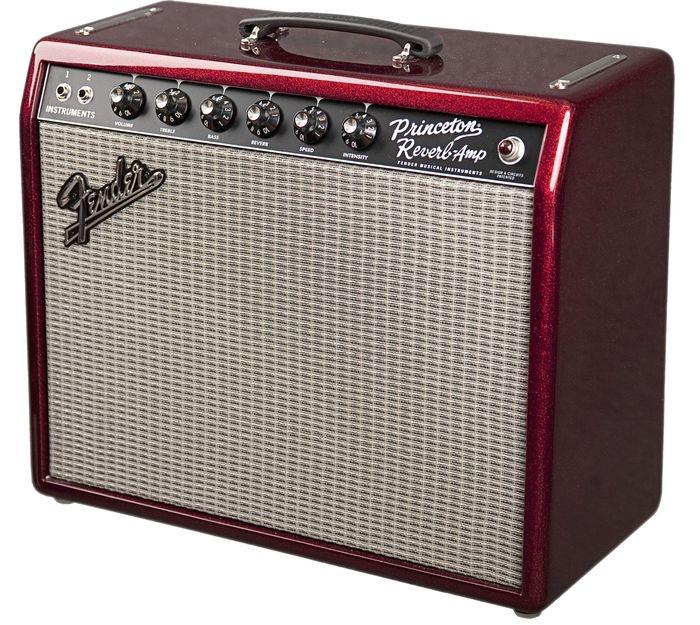 FenderFSR '65 Princeton Reverb Tube Guitar Combo AmpSparkle Red!!!