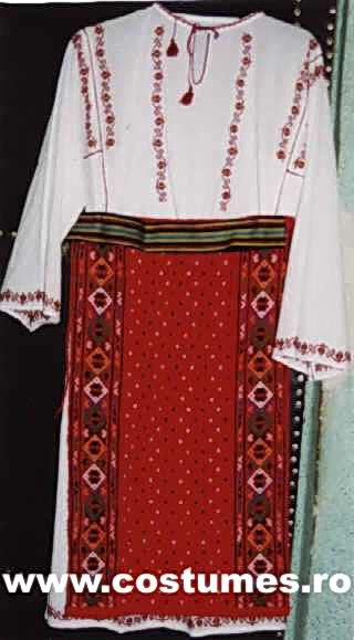 Costume from Dobrogea Area ≈ 335 €