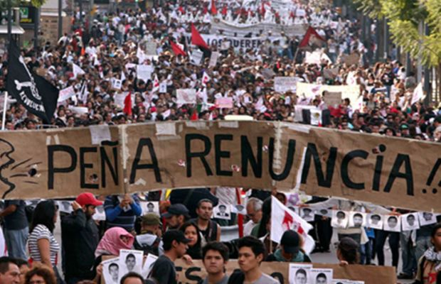 Ciudadanos convocan a marcha para exigir la renuncia de Peña Nieto