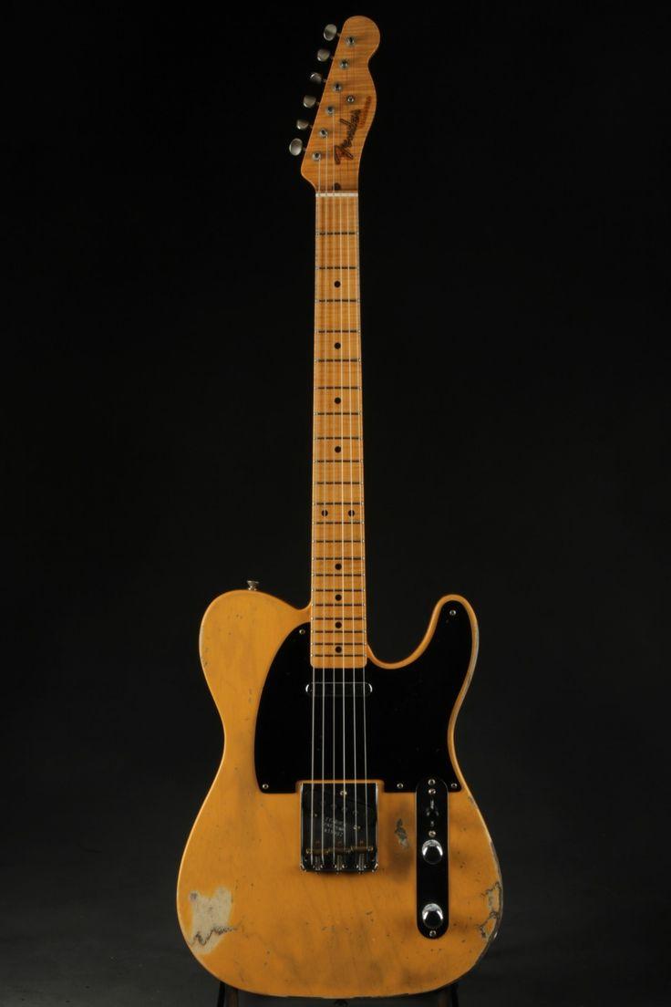 Fender Custom Shop Master Built 1952 Telecaster Relic - Butterscotch Blonde. Fender Custom ShopLock Screen WallpaperGuitars