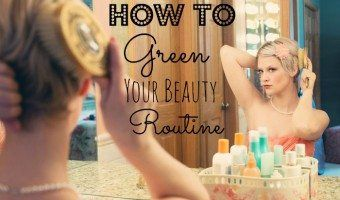 Greening your beauty routine can be daunting when you think of all the products you have to replace, but let me assure you, it doesn't have to be a big job. #organic #skincare #skin #beauty #beautytips #diy #haircare #essentialoils #makeup #antiaging #beautyblogger #healthy #lifestyle