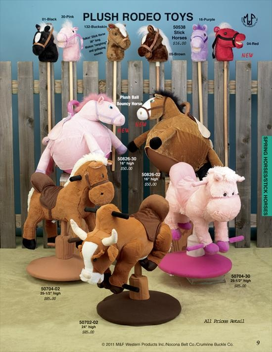 stick horses ;spring toy riding bull; bouncy / hop horse: Horses Spring, Stick Horses, Sticks, Hop Horse, Toys, Toy Riding