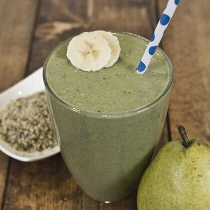 Pear & Spinach Smoothie