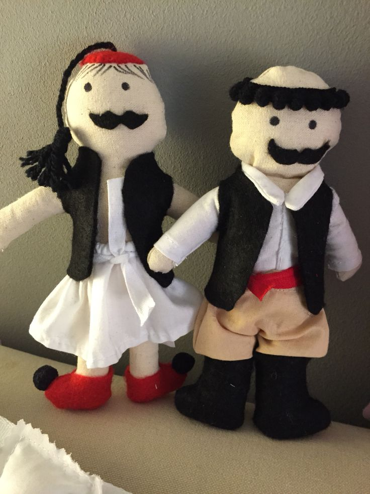 tsolias& cretan dolls