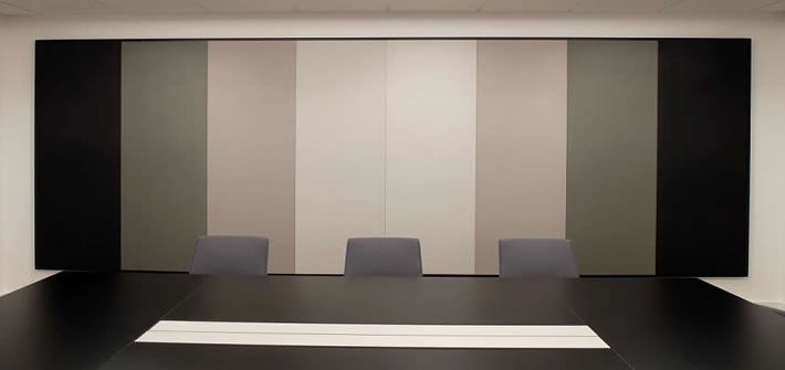 Texona Wall Panel C Black Amp Greys Meeting Room
