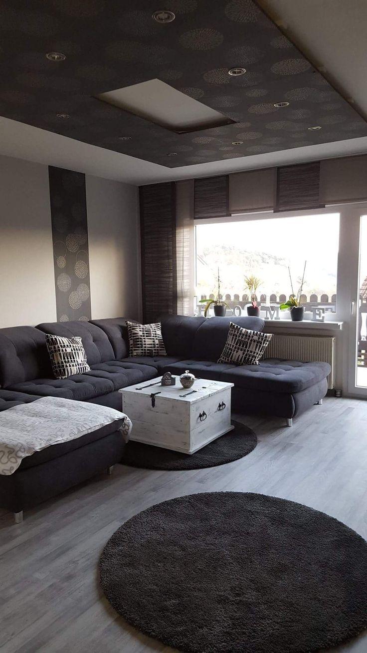Verfuhrerisch Wohnzimmer In Grau Einrichten Beige Ideen ...