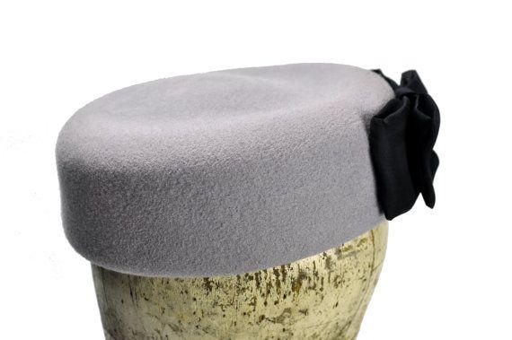 Jackie Wool Felt Hat by SOHODA on Etsy
