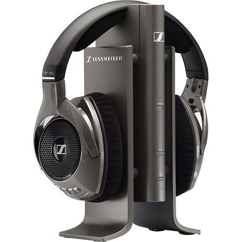 Sennheiser - Wireless Over-the-Ear Headphones - Black - Angle