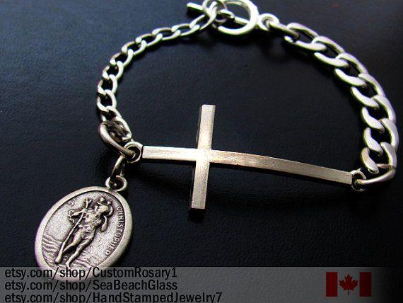 St Christopher Saint Christopher Bracelet Jewelry Men S