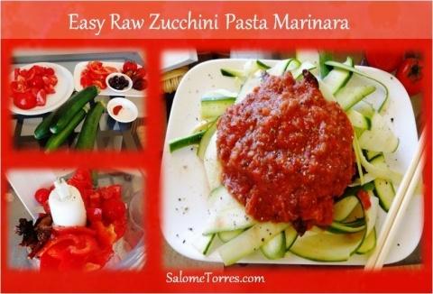 Yummy raw marinara sauce | Integrative Nutrition Certified Health Coach | Salomé Torres