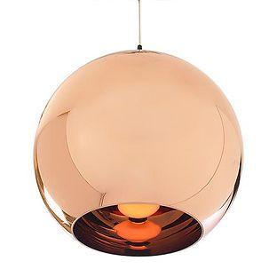 Tom Dixon copper pendant light @eBay #followitfindit