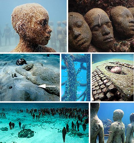 Best Underwater Sculpture Ideas On Pinterest Cancun Holidays - Europes first ever underwater museum is full of hyperrealistic human sculptures