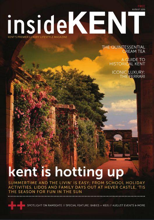 August 2015 - Taster Menu Review - insideKent Magazine