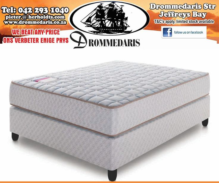 If you're looking for a mattress that instantly adjusts to your sleep movements, while naturally comforting and supporting you to reduce motion disturbances the Evolution Pocket Spring is the answer. Available at #Drommedaris. #mattress #bed #comfort
