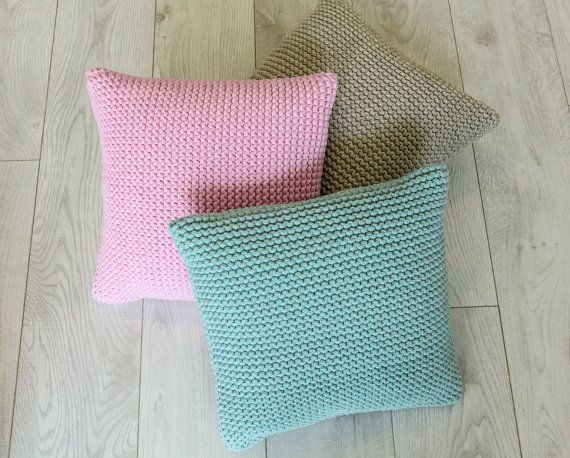 Beautiful handmade pillow, Hand knit pillow, throw pillows, decorative pillows, Cable Knit Pillow, pillows handmade, pillow covers,