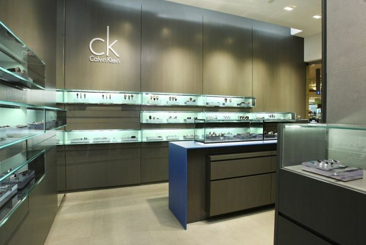 Calvin Klein Watch store and jewelry - Ivan Cipriani Associati, Taipei store design