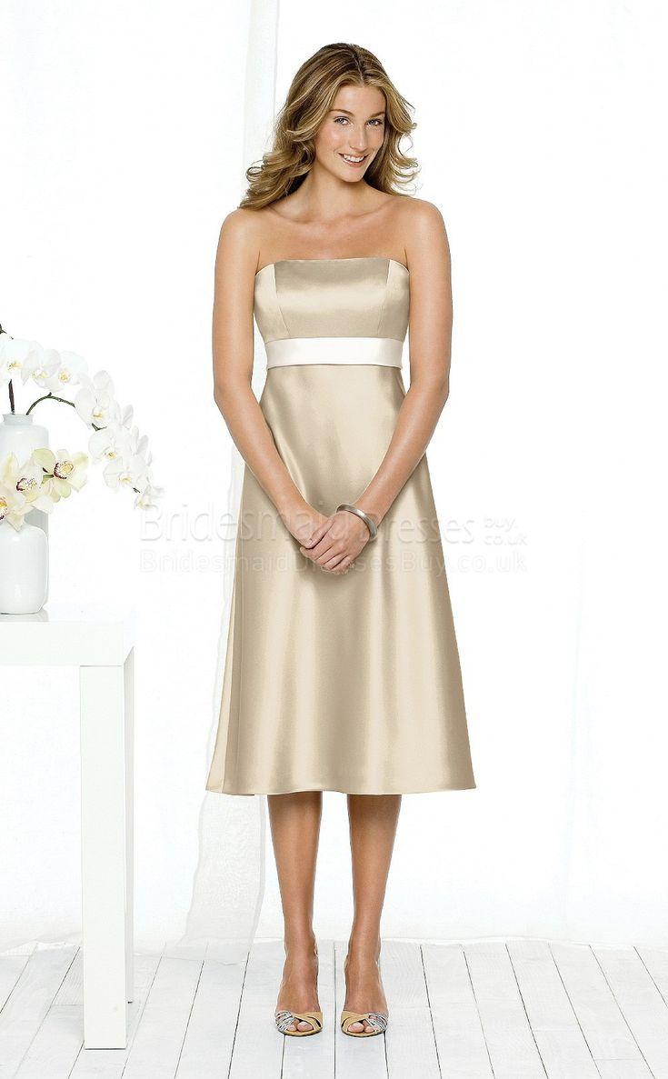 14 besten Champagne Bridesmaid Dress Bilder auf Pinterest