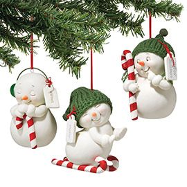 """Department 56: Products - """"Snowman Sports Ornament, 3a"""" - View Products"""