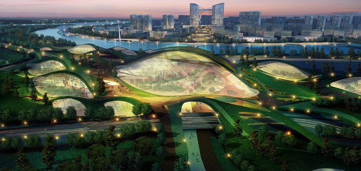 Tiajin China - Eco City