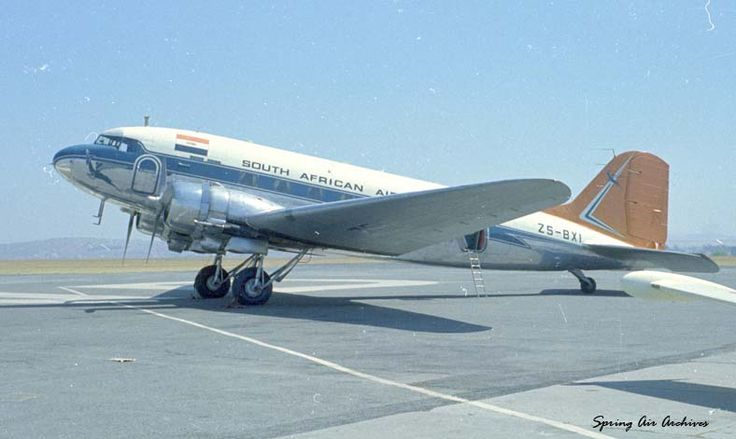 Douglas DC-3 C-47 South African Airways