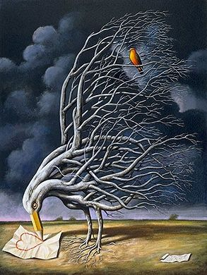 Modern Surrealism | Modern surrealism | Art Project Ideas Using Trees