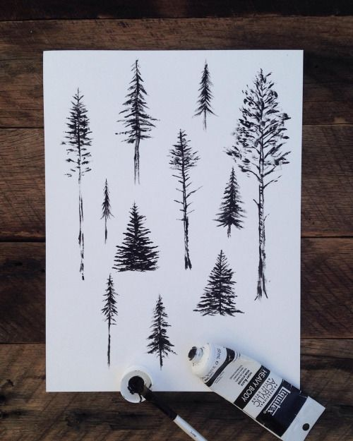 onceuponawildflower:  grace–upon–grace:  Sam Larson   Can you design me a tattoo from your trees?