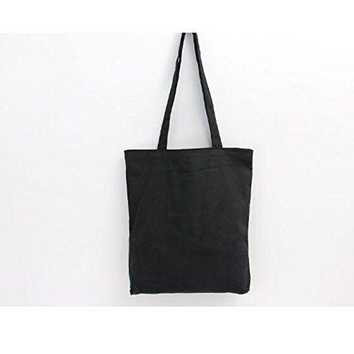 Canvas Tote Bag Black Print Design ASAPS (Black Only)  e5466e8b1b3fe