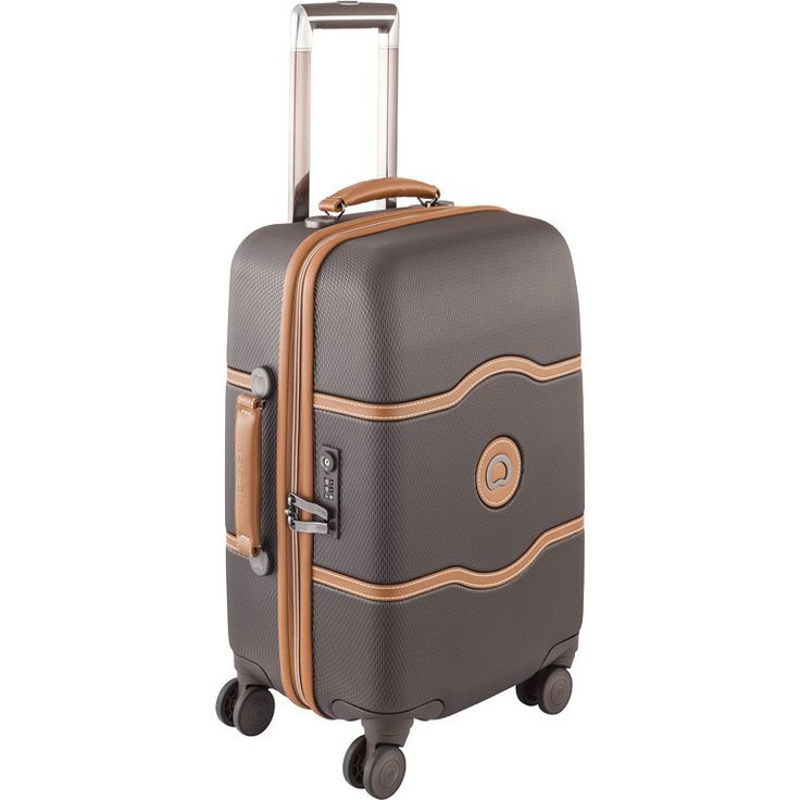 Delsey Chatelet Plus Carry On Suitcase in Chocolate | Buy Carry On Suitcases