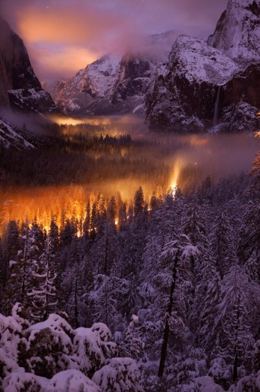 Photographer Phil Hawkins captures the other-worldly beauty of Yosemite National Park