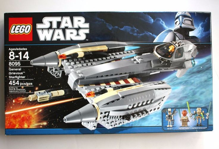 Get it at Bad Reputation! NEW #LEGO #StarWars #GeneralGrievous #Starfighter #LegoSet 8095 #FACTORYSEALED #Retired #LEGOs #Toys #Blocks #HotToy #Collector #Space