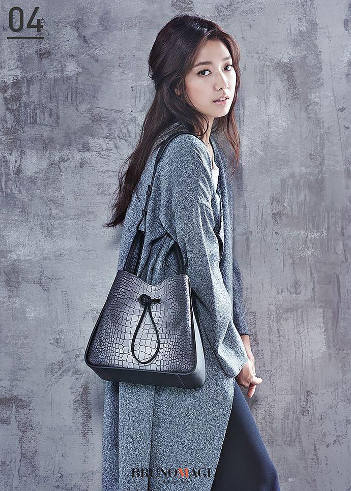 Park Shin Hye's New F/W 2015 Ads For Agatha Paris & Bruno Magli   Couch Kimchi