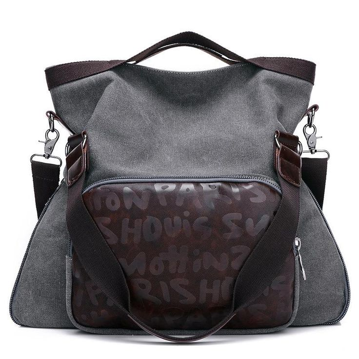 European Style Suede and leather crossbody Tote messenger Duffel  bag Women Travel Bags. 4 colors available.