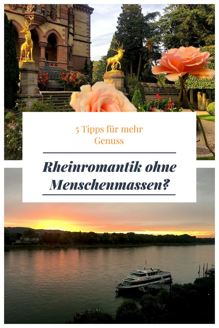 Schloss Drachenburg und Königswinter ohne Touristenströme? Mit meinen Tipps könnt ihr die Romantik des Rheins ungestört genießen!