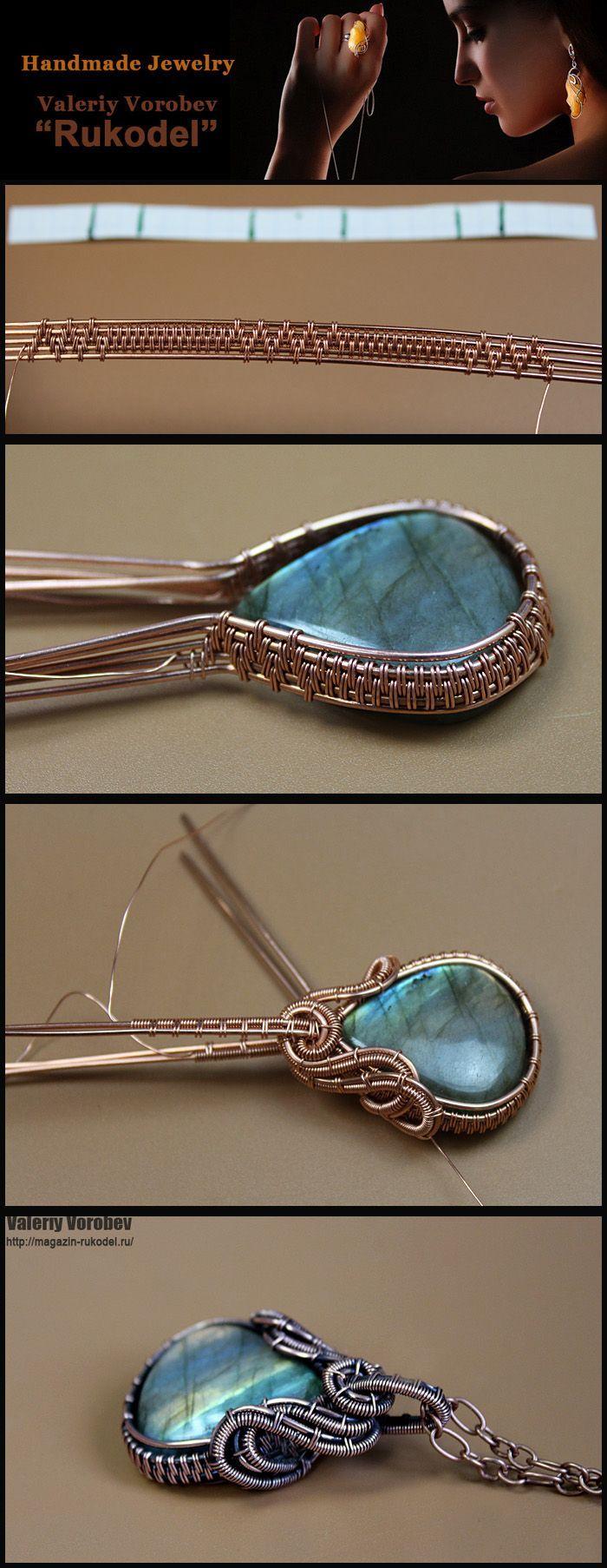 wire wrap, wire wrapped, wire jewelry, handmade – УКРАШЕНИЯ – #Handmade…   – jewelry