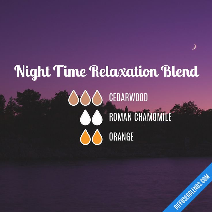 Blend Recipe: 3 drops Cedarwood, 2 drops Roman Chamomile, 2 drops Orange