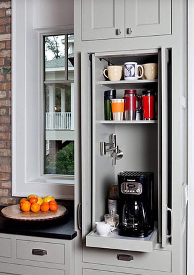 Perfect idea for KitchenAid mixer. Pull out drawer within ... on Modern:gijub4Bif1S= Kitchen Remodel  id=69925