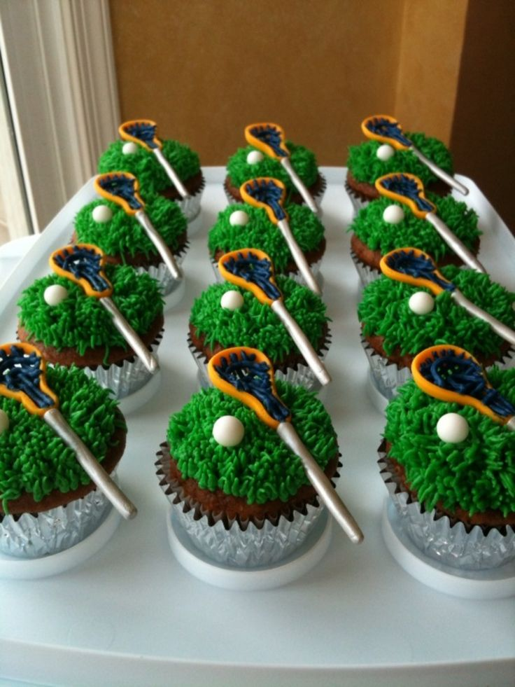 1000 Ideas About Lacrosse Cupcakes On Pinterest