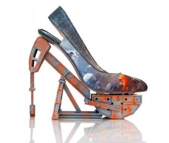 Креативная авангардная обувь - Ярмарка Мастеров - ручная работа, handmade