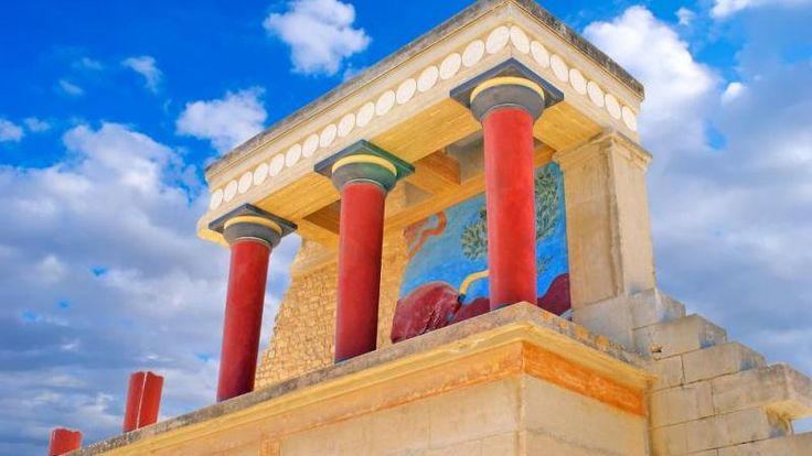 Cruise Planners - Check out the Palace of Knossos and the Heraklion Archeological Museum in Crete, Greece!  Just one of the many shore excursions on a cruise through the Holy Lands!   I book travel! Land or Sea! http://www.getawaycruiseplanner.com