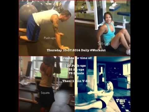 Thursday 10.07.2014 Daily Workout