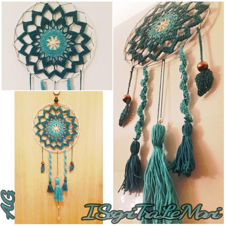 -DreamCatcher- -Acchiappasogni- -crochet-