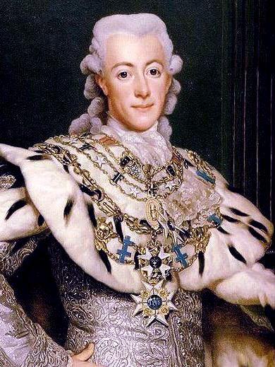 Portrait of King Gustav III by Alexander Roslin, 1777
