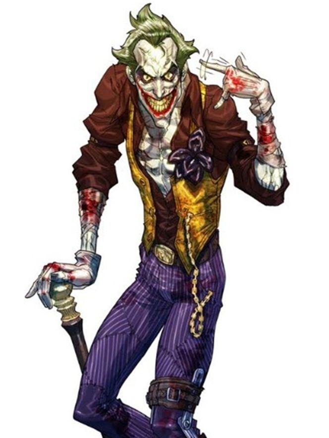 The Joker (occasionally using the pseudonym 'Joseph Kuhr') is a fictional character, a supervillan in the DC Comics universe. Created by Jerry Robinson, Bill Finger and Bob Kane, he first appeared in Batman #1 in 1940. The Joker suffered a chemical accident that scarred his mind and body turning him into a psychotic serial killer and dangerous madman who dresses like a clown. Recognized as Batman's greatest enemy, living in and terrorizing Gotham City, although he spends most of his time in…