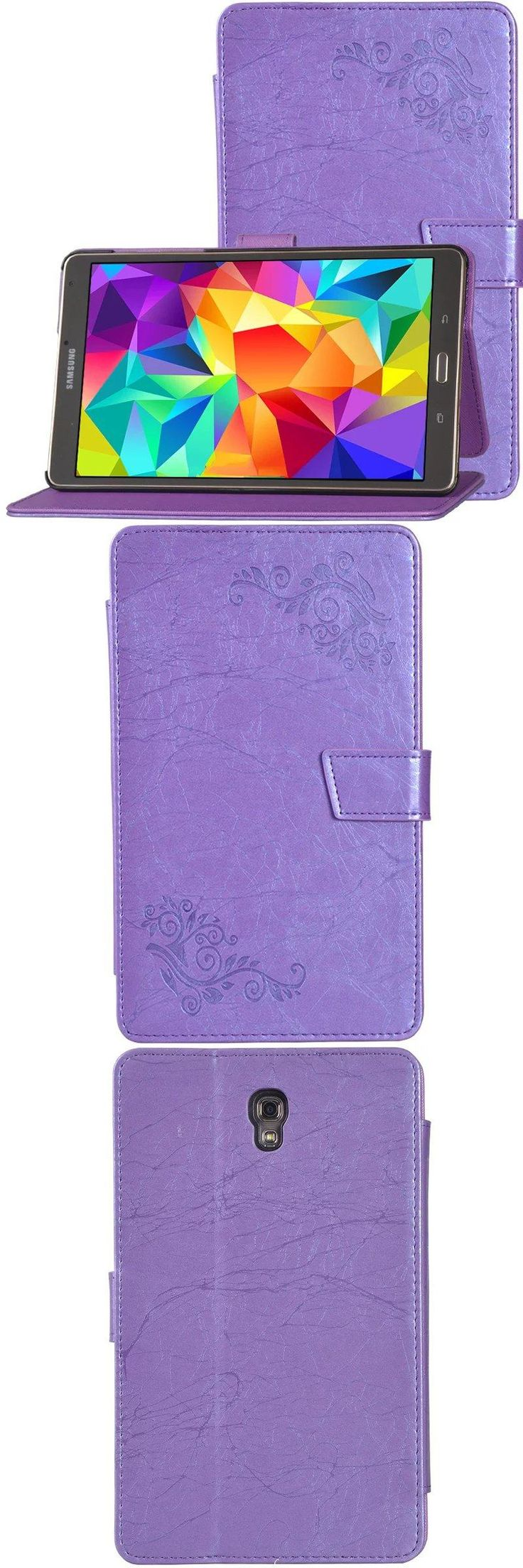 [Visit to Buy] Luxury Print Flower PU Leather Case Cover for Samsung Galaxy Tab S 8.4 T700 T705 SM-T700 SM-T705 + Clear Screen Protector #Advertisement