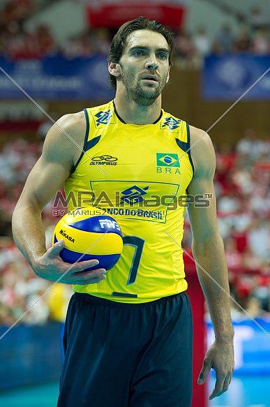 Giba of Brazil Volleyball Team | © Mariusz Pałczyński / MPAimages.com