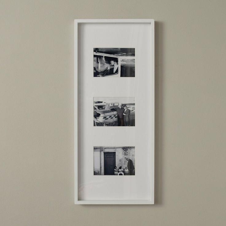 triple white wooden frame 5x7 the white company