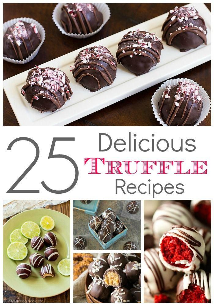Easy Truffle Recipes! Homemade Truffles for a Holiday Dessert Gift or Snack Recipe!